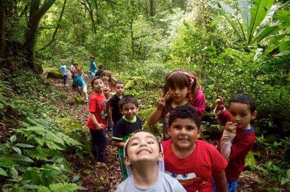 A day at camp with the preschoolers
